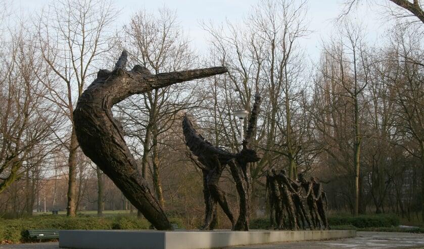 Het Nationaal monument Slavernijverleden in Amsterdam