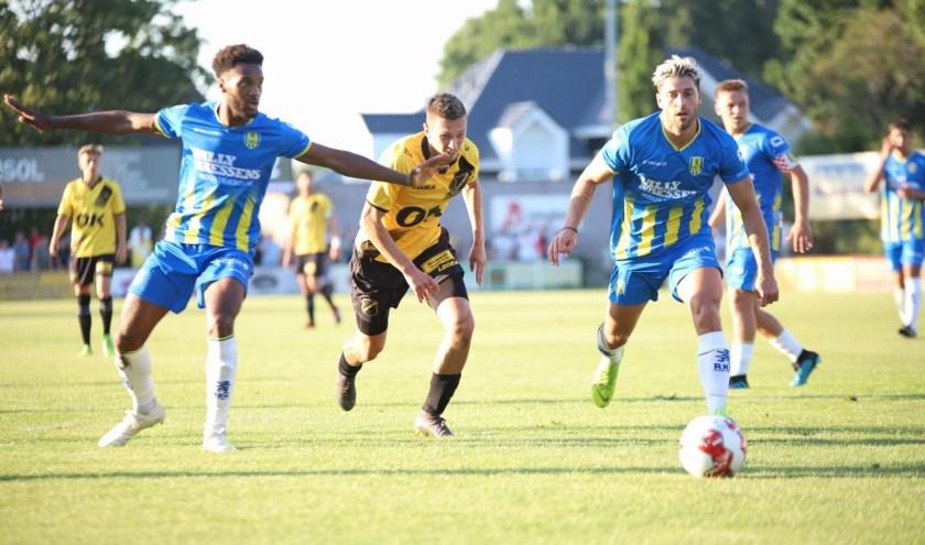 NAC weet weinig poten te breken tijdens het oefenduel in Sint Willebrord
