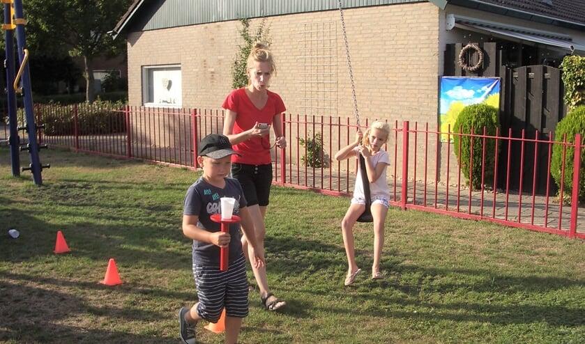 In Helwijk werd de speeltuin vorig jaar opgeknapt.