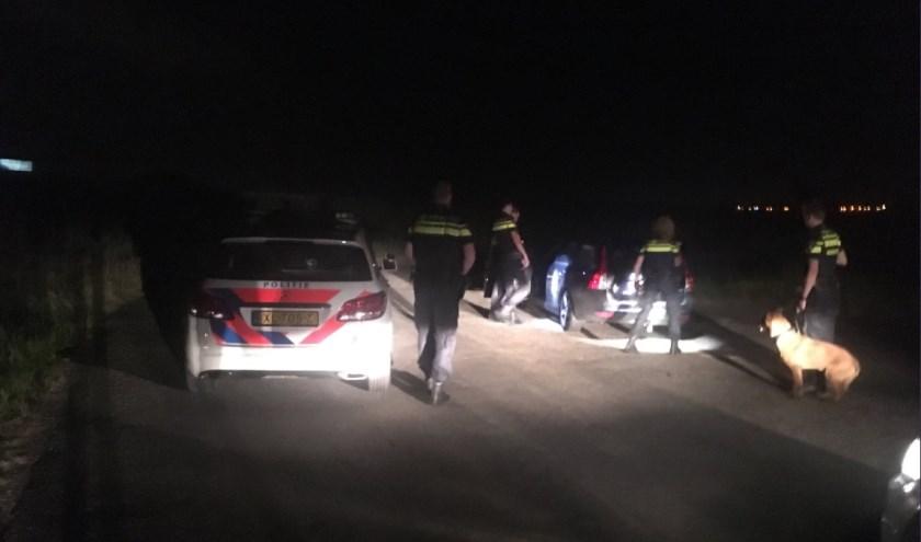 De politie kon de twee mannen aanhouden.