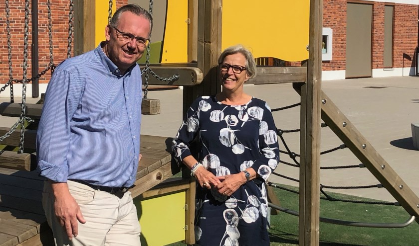 Bob Schram is de nieuwe directeur van OBS de Linde en volgt daarmee Marianne Fliervoet op.  FOTO: Johan Wagenmakers