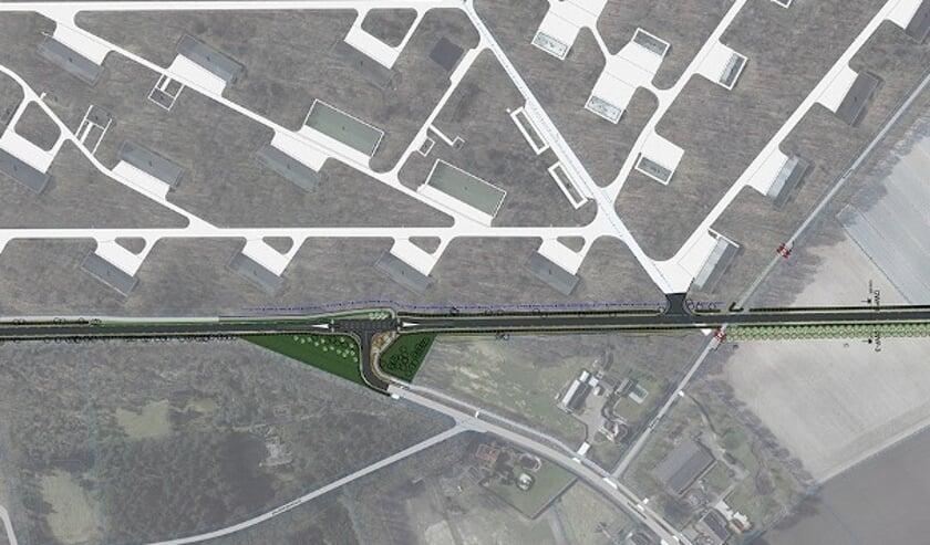 Het gaat om een verbindingsweg tussen de Sprundelseweg (ter hoogte van de Industriestraat) en de Vorenseindseweg.