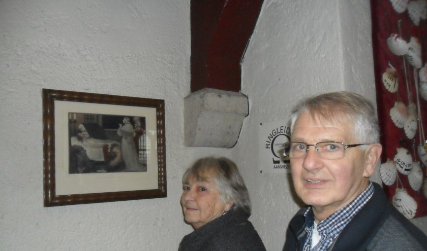 Piet en Marijke Voskuil bij 14e statie.