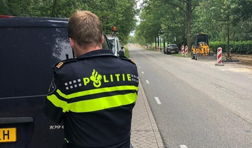 De politie deelde bekeuringen uit bij snelheidscontroles in Achtmaal