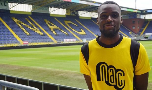 De aanvaller tekent een eenjarig contract met optie tot nog een jaar.  Foto: NAC Media © BredaVandaag