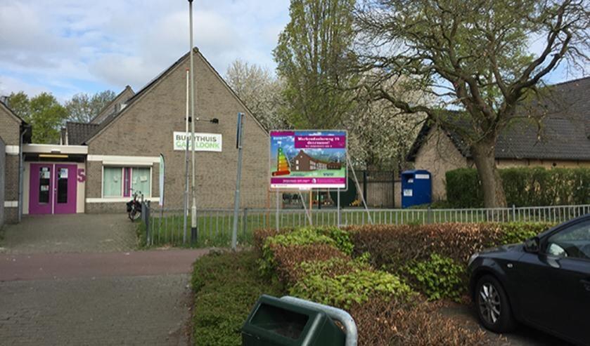 Het buurthuis in de Haagse Beemden.