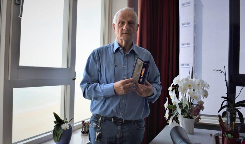 """Bert Wilmering is """"flabbergasted"""" over de toekenning van de koninklijke onderscheiding. FOTO CÉDRIC BROODMAN"""