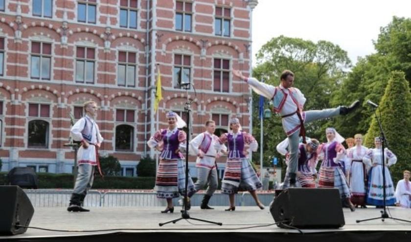 Folklore van het ensemble Zorachka uit Wit-Rusland.