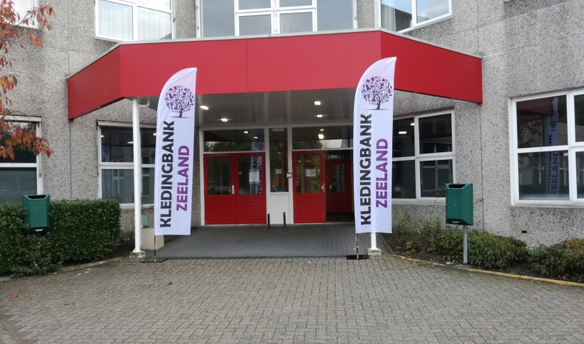 Kledingbank Zeeland. FOTO M. VAN DER RANDE