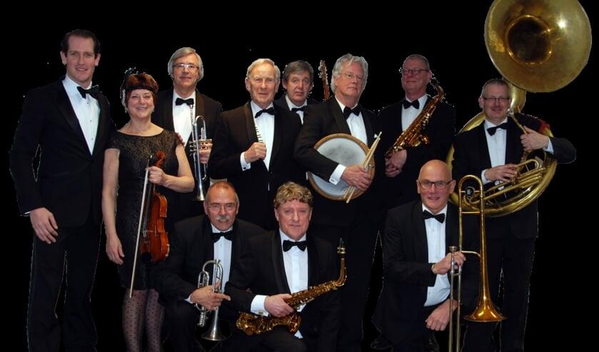 Het 95 jaar oude orkest 'The Original Victoria Band'.