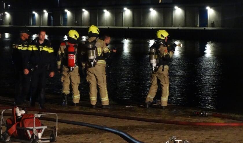 De brandweer kon om 04.20 uur het sein brand meester geven.