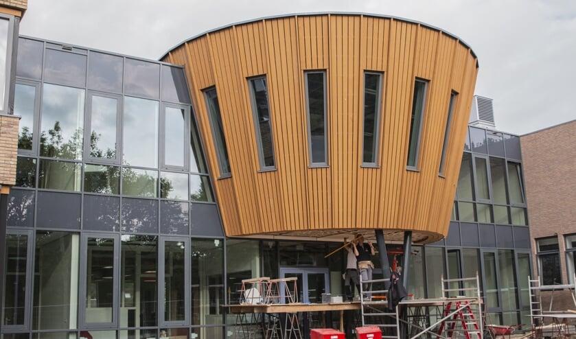 Het vernieuwde gebouw wordt woensdag officieel geopend.