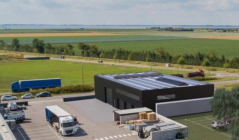 Saman Groep gaat uitbreiden op haar terrein in Zierikzee.