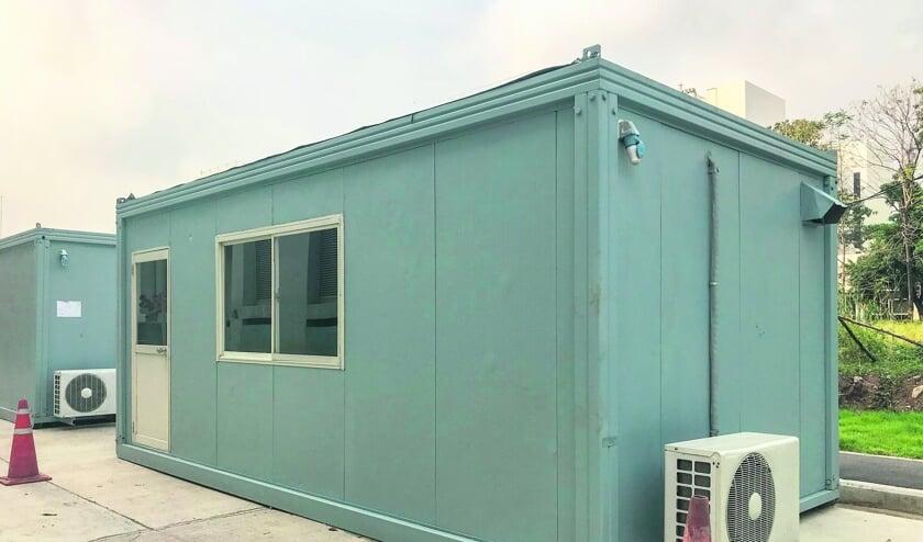 Onder bepaalde voorwaarden kan de gemeente een vergunning verlenen om tijdelijk in een unit te mogen wonen. FOTO SHUTTERSTOCK