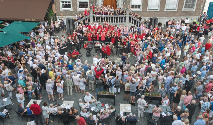 De koren in de binnenstad van Breda.