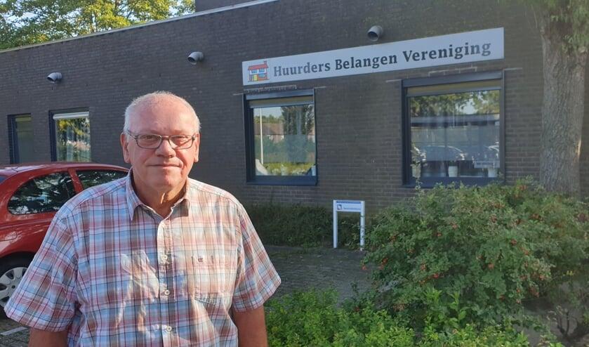 Jan van Iersel is coördinator van de werkgroep met betrekking tot de Huurdersdag.