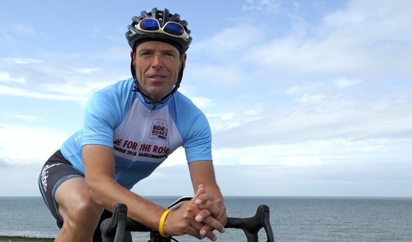 François de Dreu is een fanatiek fietser. FOTO ANNET EEKMAN