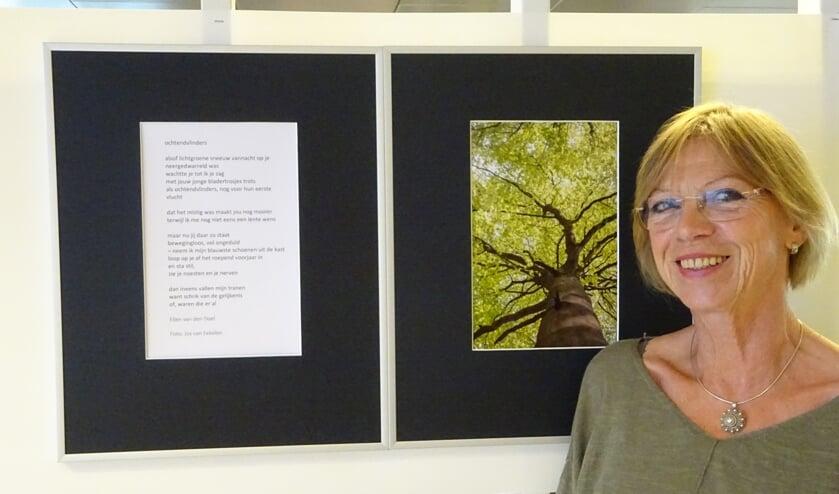 Dichteres Ellen van den Doel is een van de deelnemers van Fototaal.