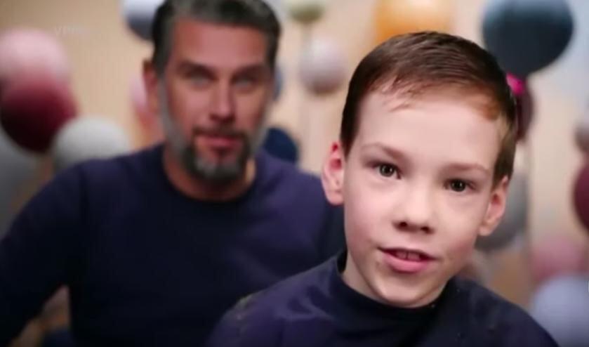 Marko en een van zijn 'klanten' in het televisieprogramma Hoofdzaken