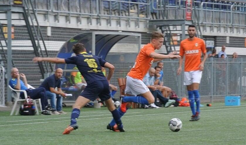 Jari Rommens zou later uit een voorzet van Faysal Bensiali de 1-0 binnenkoppen.