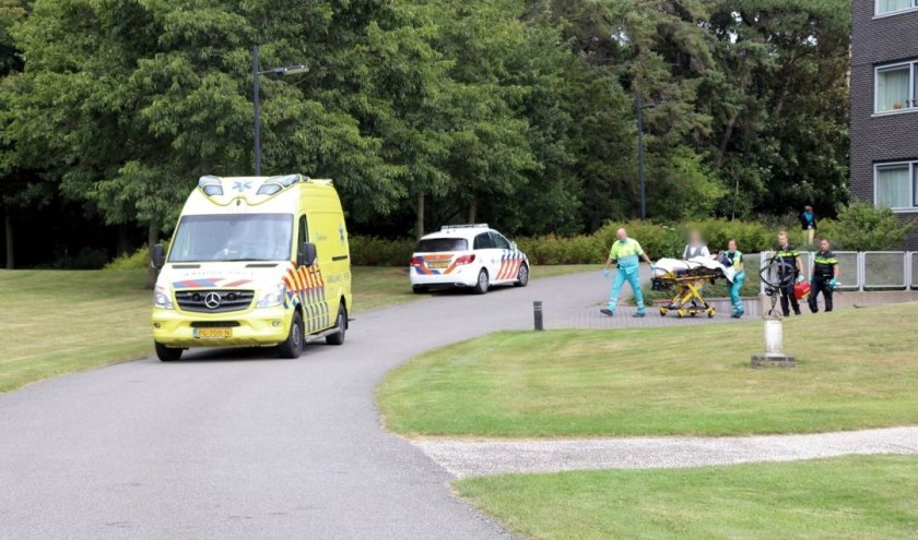 De ambulance en de politie kwamen ter plekke.