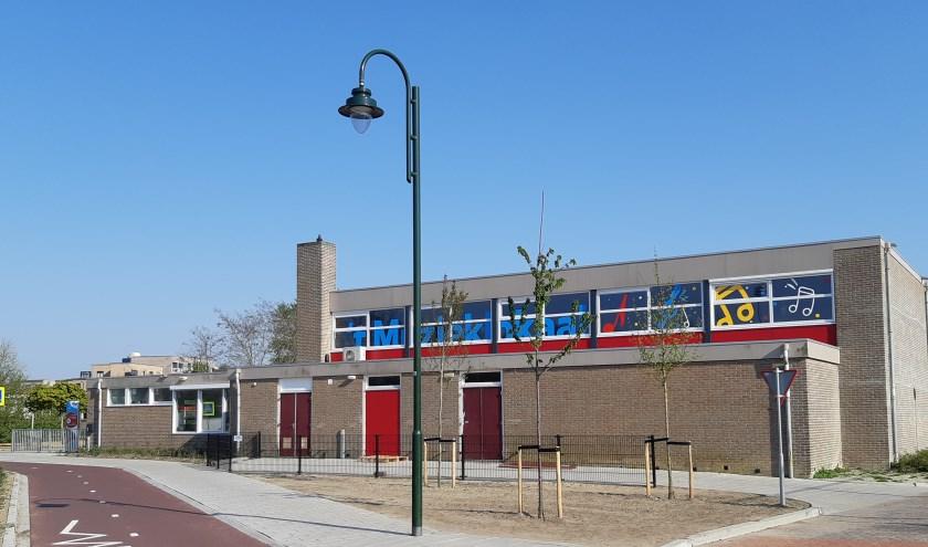 Het nieuwe muziekgebouw van Concordia.