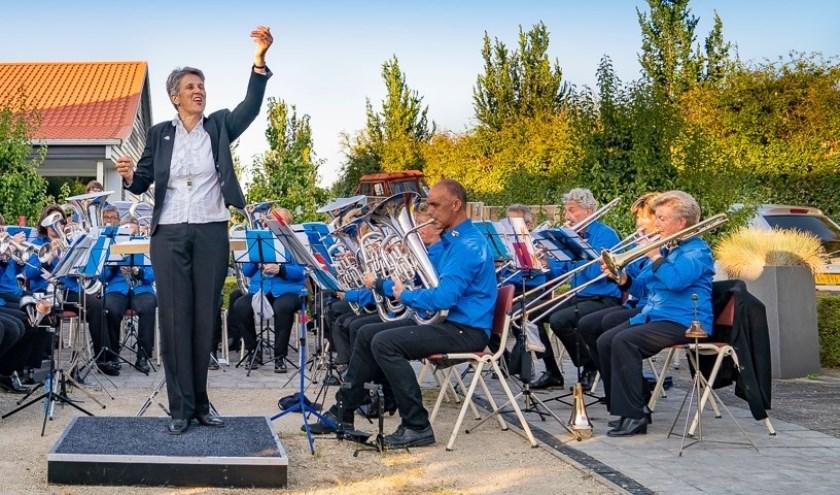 De brassband van OKK.