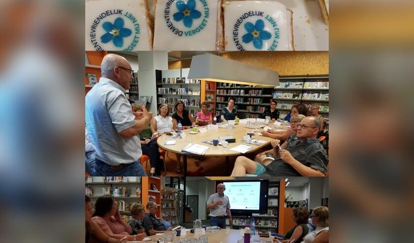 Ook de medewerkers en vrijwilligers van de Bibliotheek Halderberge namen deel aan de training Samen Dementievriendelijk. ARCHIEFFOTO