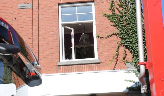 De politie doet onderzoek.  Foto: CHRISTIAN TRAETS © Internetbode