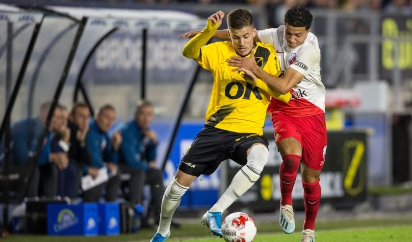 De Bredanaren wisten niet van de Utrechtse ploeg te winnen.