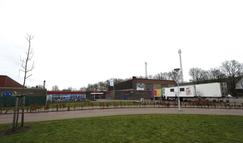 Het huidige sportcentrum wordt pas gesloopt als het nieuwe er staat.