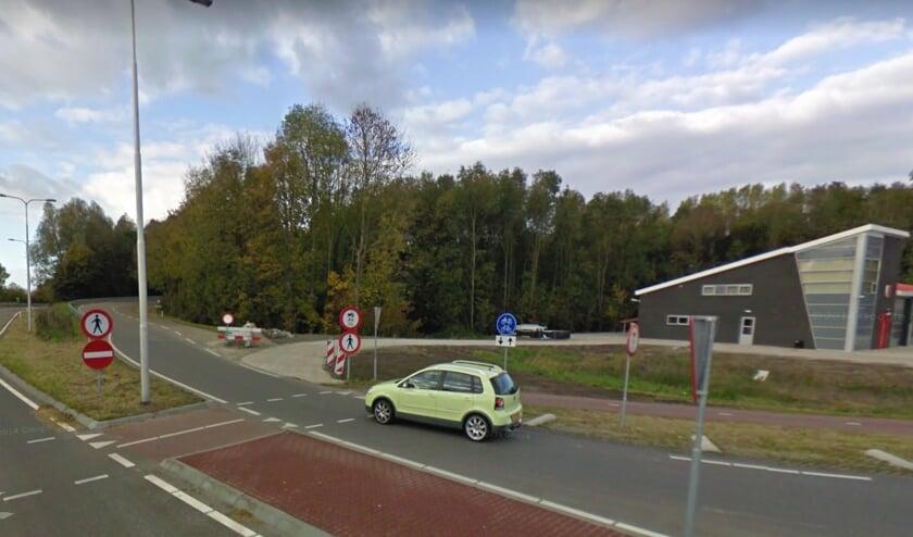 In 2018 is de verkeerssituatie op de Grindweg nog aangepast. FOTO GOOGLE MAPS