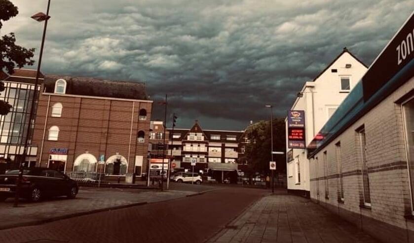 Het centrum van Oudenbosch, nabij de kade. ARCHIEFFOTO DANIELLE LAROS-BOERE
