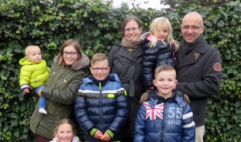 De familie Murre verhuist dit jaar naar Schotland. FOTO MARIJN RIEMENS