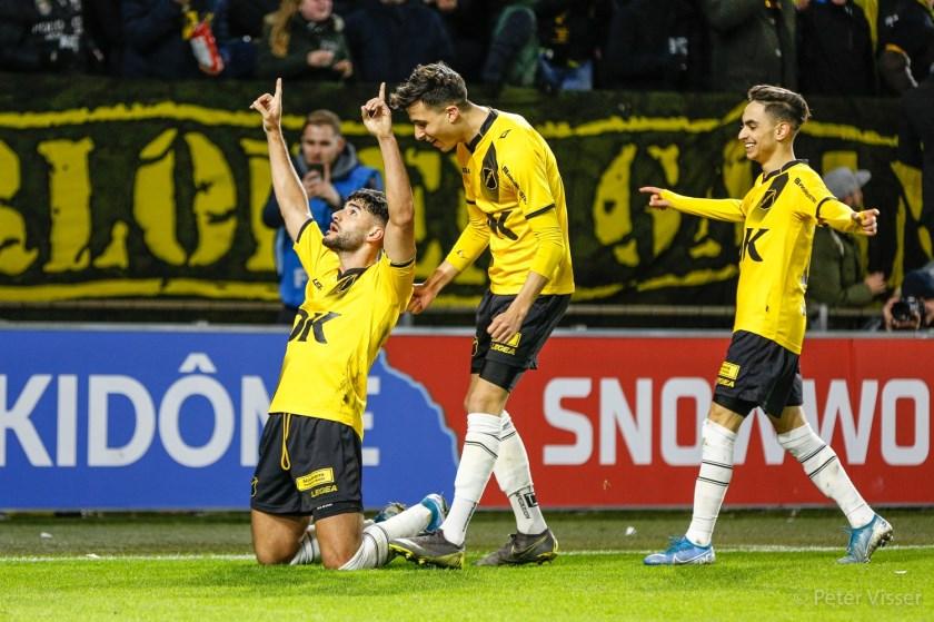 NAC won vrijdagavond met 3-1 van Jong AZ.