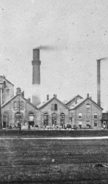 De suikerfabriek 1930.