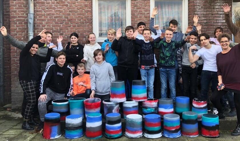 30 Leerlingen bouwen mee aan Super Tullepetaon.