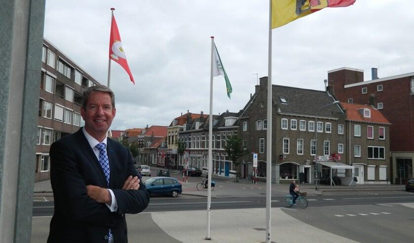 Wethouder Albert Vader van de gemeente Vlissingen.