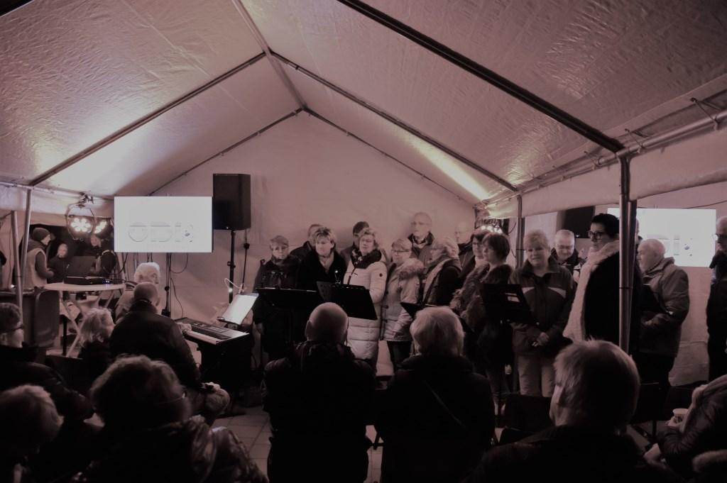 Zanggroep ODI onder leiding van Theo Wouters. FOTO STELLA MARIJNISSEN  © Internetbode