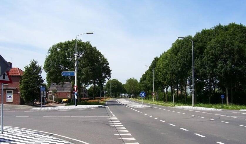 De 285 bij Langeweg.