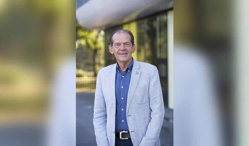 Rector Peter van Heusden voor de KSE. FOTO KSE