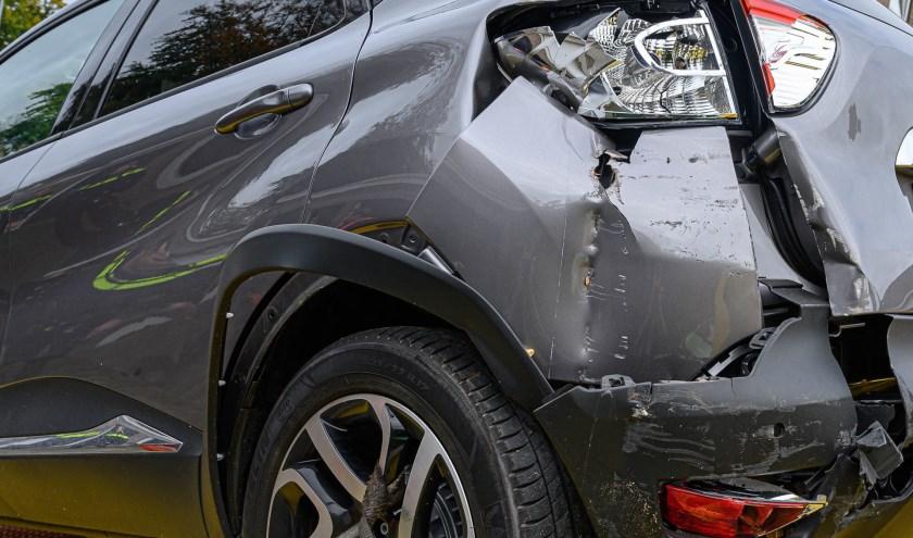 Een ongeval. Foto ter illustratie