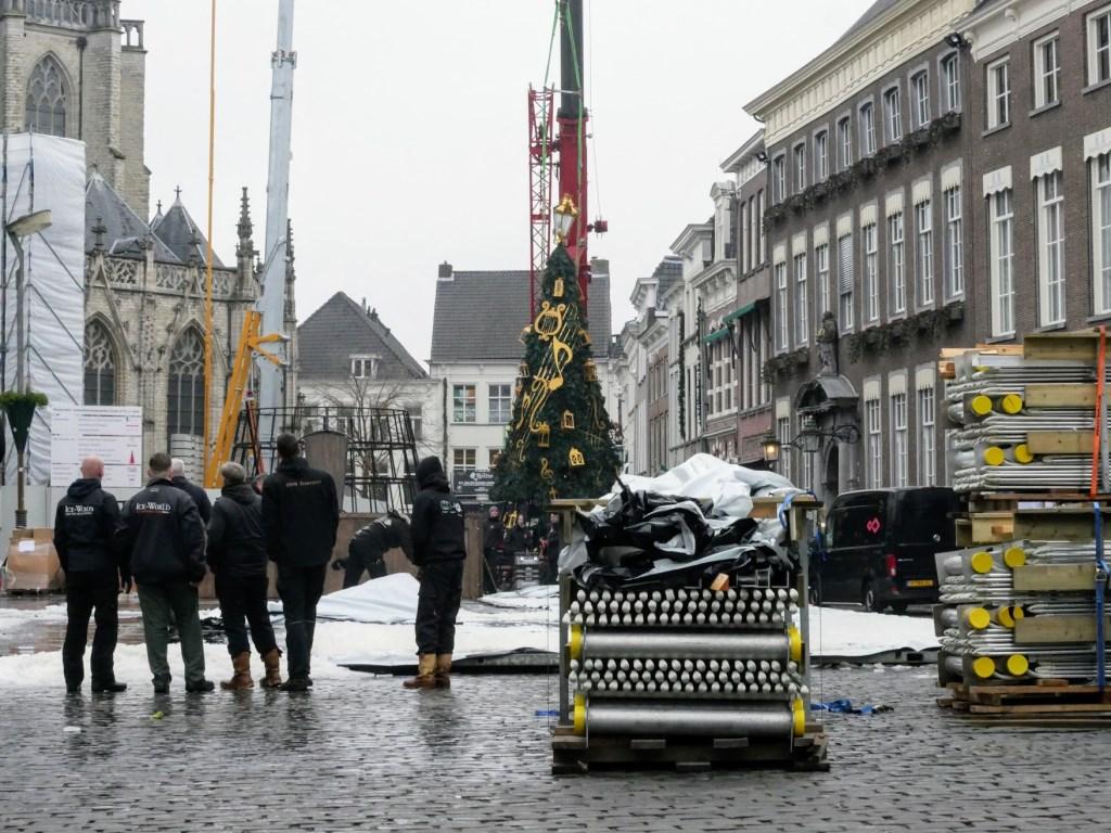 De Grote Markt keert weer terug naar het normale.  Foto: Wesley van der Linde/GroenNieuws.nl © BredaVandaag
