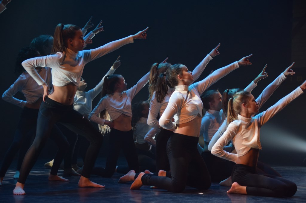 Dansdemonstratie. FOTO STELLA MARIJNISSEN Foto: Stella Marijnissen © Internetbode