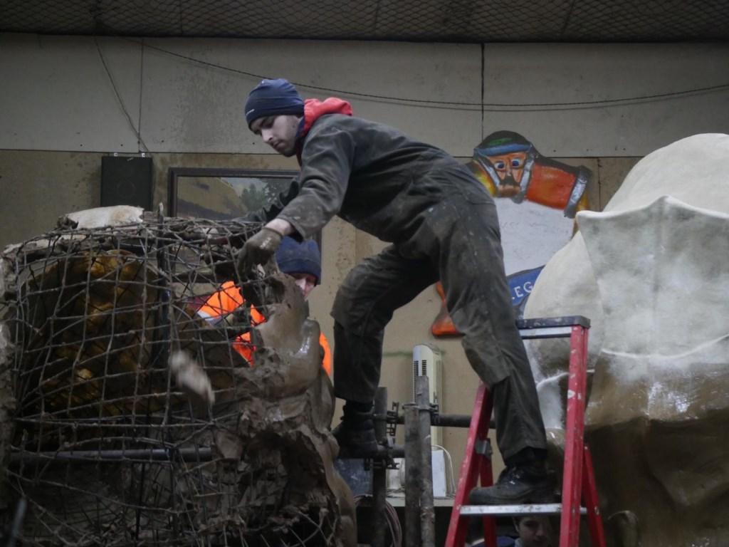 Er worden diverse demonstraties gegeven.  Foto: Wesley van der Linde/GroenNieuws.nl © BredaVandaag