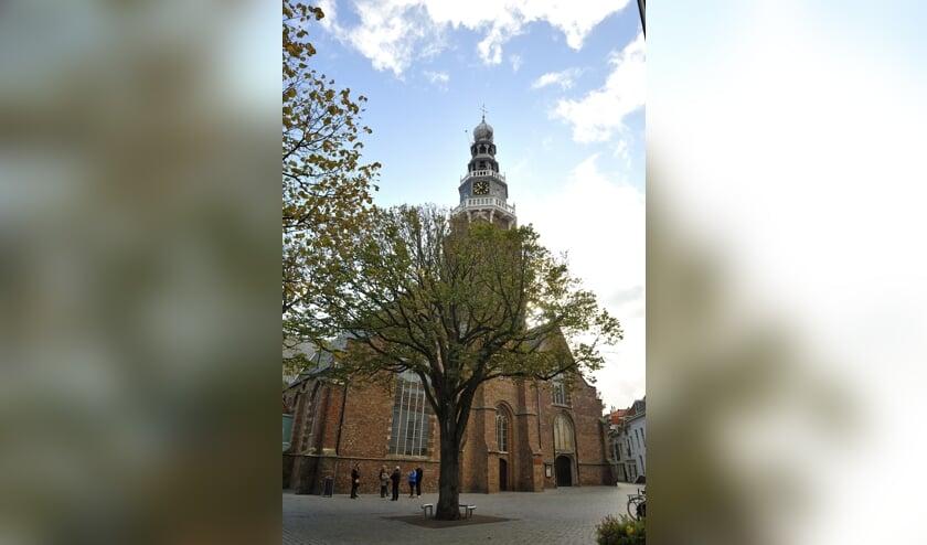 <p>De lezing vindt plaats in de Sint Jacobskerk, maar is voor iedereen online te volgen.</p>