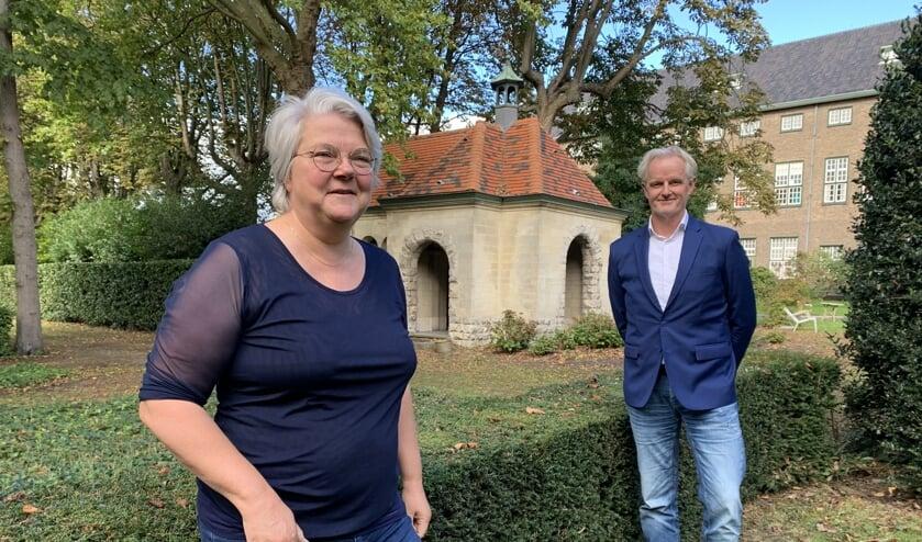 <p>Wethouder Klaan Koenraad en kwartiermaker Jan Ducaat</p>