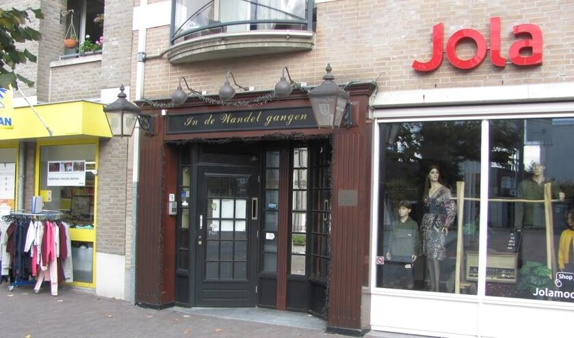 <p>Caf&eacute; In De Wandelgangen aan de Markt in Zundert.</p>