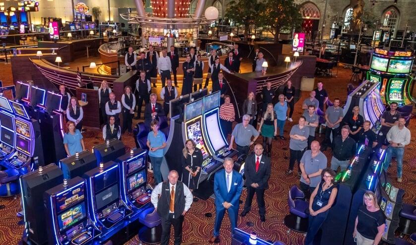 Holland Casino Breda bij de opening na de eerste lockdown van 2020