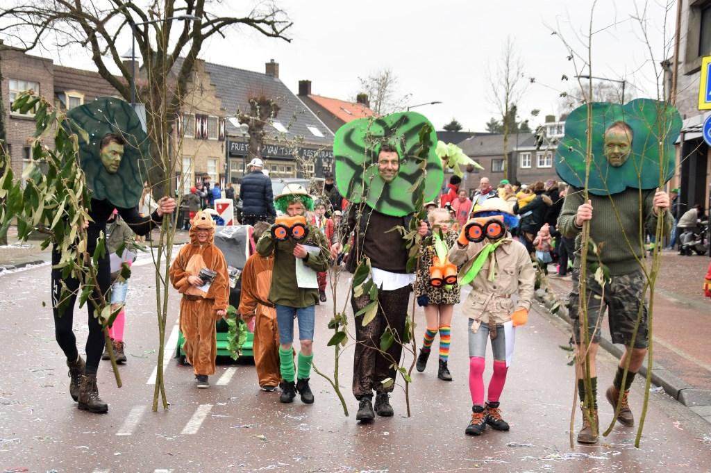 De kinderen liepen trots door de straten van Aopelaand. Foto: Sandra Smits © Internetbode